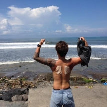 day 3 with Mr Yoshi was fun surf at canggu